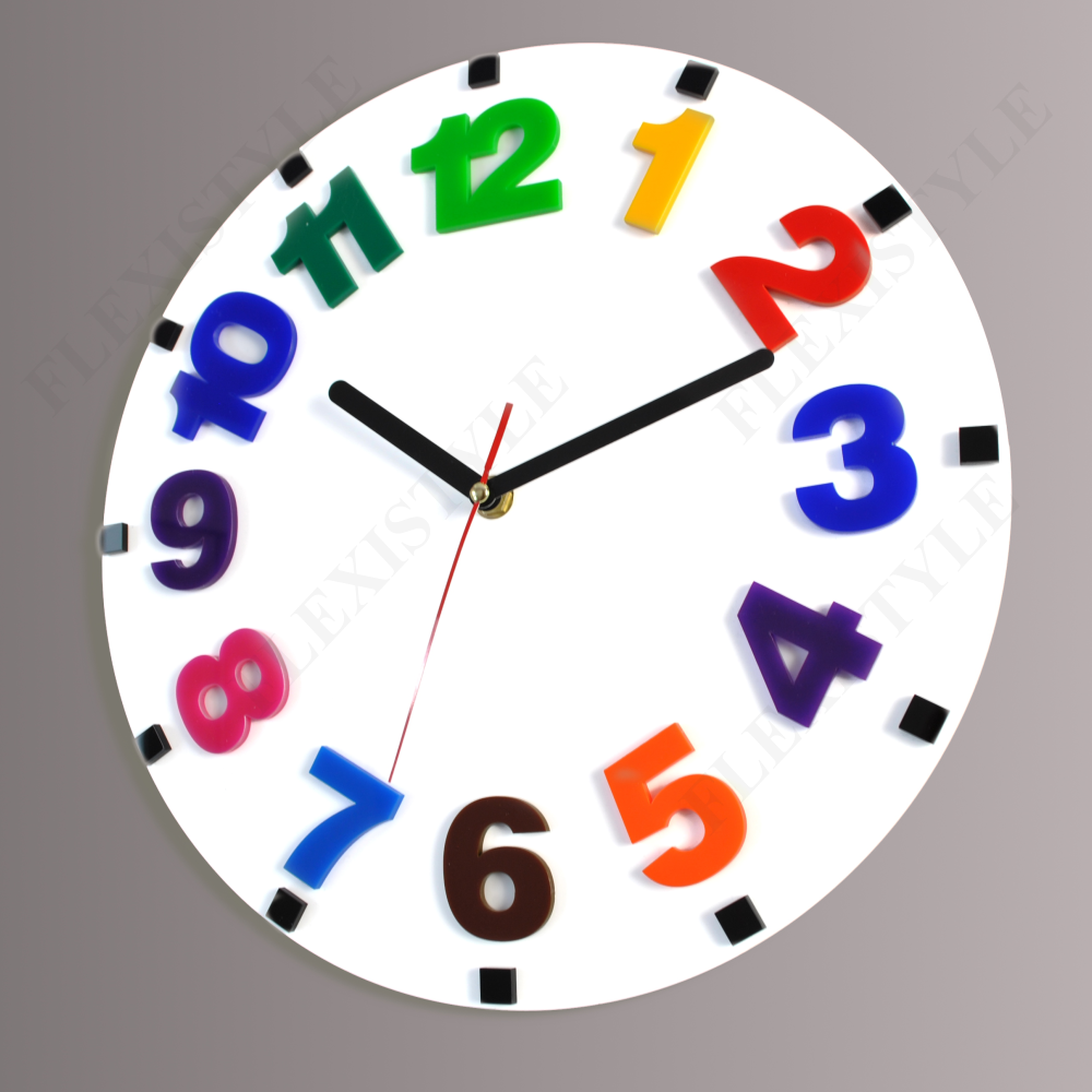 Modern wall clock for kids lively and funny clock for Wall clock images for kids