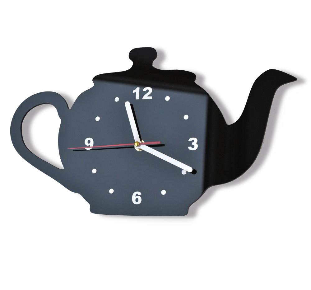 orologio per la cucina a forma di bollitore da th per quelli che apprezzano gli addobbi originali e non standard lorologio disponibile in 15 colori